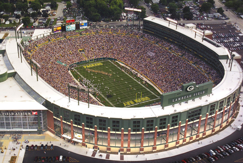 lambeau field and the green bay Green bay packers tickets - lambeau field seating chart for the green bay packers.